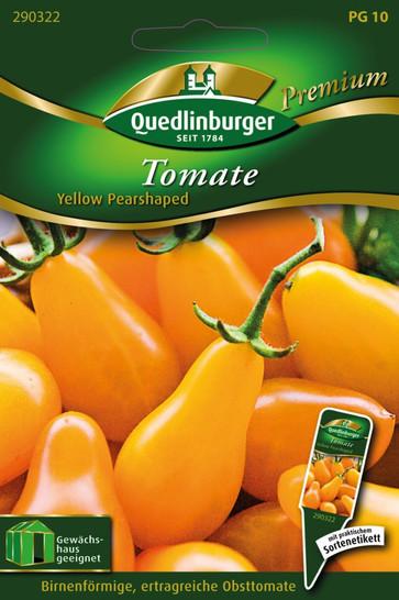 Tomaten Yellow Pearshaped von Quedlinburger Saatgut