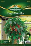 Rote Topfpaprika Kobold von Quedlinburger Saatgut