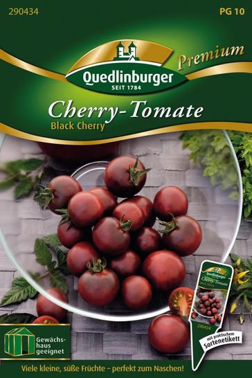 Kirschtomaten Black Cherry von Quedlinburger Saatgut