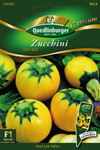 Zucchini One Ball von Quedlinburger Saatgut