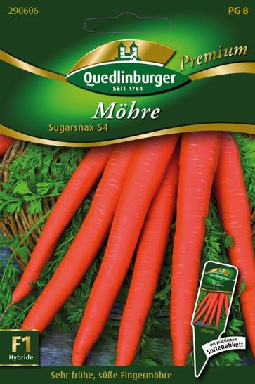 Möhren Sugarsnax 54 von Quedlinburger Saatgut