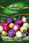 Radies Ostereier Mischung von Quedlinburger Saatgut [MHD 01/2020]
