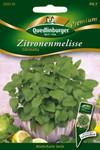 Zitronenmelisse Citronella von Quedlinburger Saatgut [MHD 01/2020]