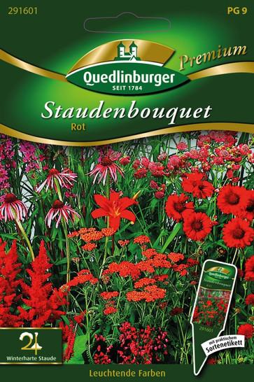 Staudenbouquet rot von Quedlinburger Saatgut