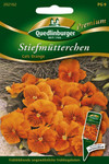 Stiefmütterchen Cats orange von Quedlinburger Saatgut [MHD 01/2019]