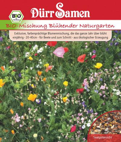 Blumenmischung Blühender Naturgarten 5m² | Bio-Blumenmischung von Dürr Samen