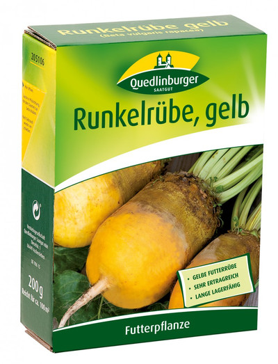 Runkelrübe gelb, 200g von Quedlinburger Saatgut