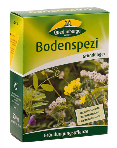 Bodenspezi-Gründüngungsmischung 500 g | Gründünger von Quedlinburger