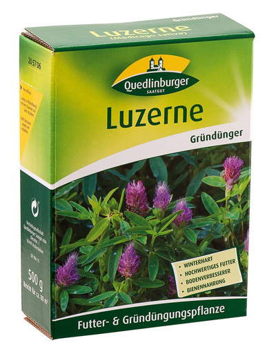 Luzerne 500 g | Gründünger von Quedlinburger