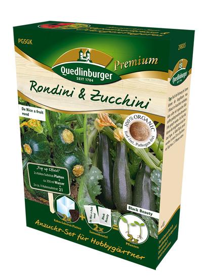Anzucht-Set Rondini & Zucchini   Anzuchtset von Quedlinburger