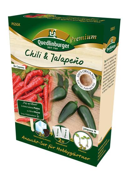 Anzucht-Set Chili & Jalapeno | Anzuchtset von Quedlinburger