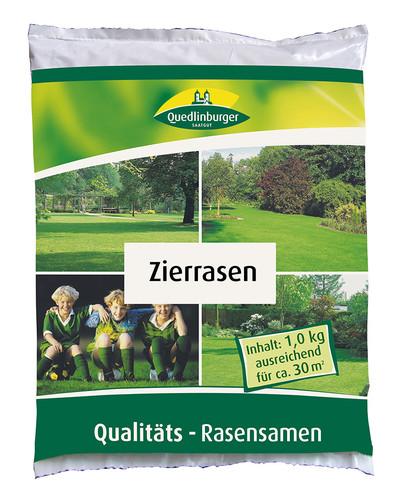 Zierrasen 1 kg | Rasensamen von Quedlinburger