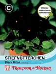 Stiefmütterchen Black Moon | Stiefmütterchensamen von Thompson & Morgan [MHD 01/2020]