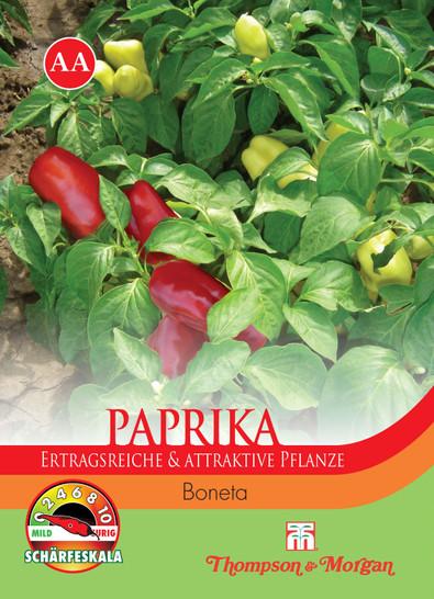 Paprika Sweet Boneta | Paprikasamen von Thompson & Morgan