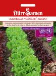 Saatband Multileaf-Salate für Balkon | Salatsamen von Dürr-Samen