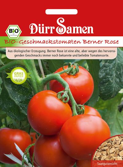 Geschmackstomate Berner Rose | Bio-Geschmackstomatensamen von Dürr-Samen