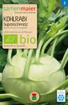 Kohlrabi Superschmelz | Bio-Kohlsamen von Samen Maier