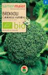 Brokkoli Calabrese natalino | Bio-Brokkolisamen von Samen Maier
