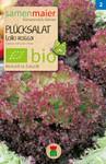 Pflücksalat Lollo rossa | Bio-Salatsamen von Samen Maier