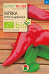 Paprika Roter Augsburger | Bio-Paprikasamen von Samen Maier