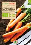 Möhre Nantaise 2 früh Saatband | Bio-Möhrensamen von Samen Maier