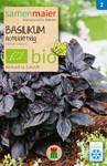 Basilikum rotblättrig einjährig | Bio-Basilikumsamen von Samen Maier