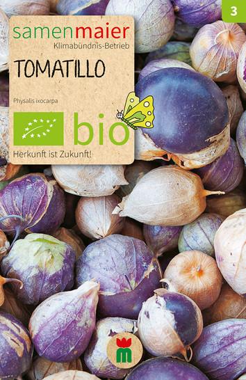 Tomatillo Mischung violett-weiß | Bio-Tomatensamen von Samen Maier