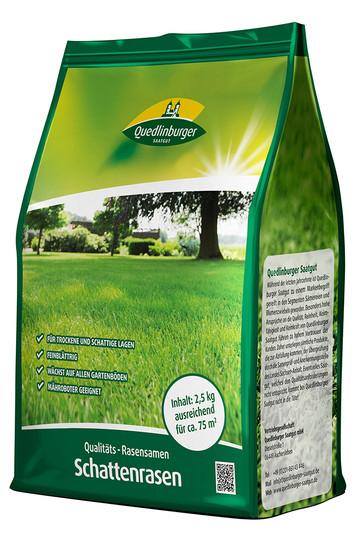Schattenrasen 2,5 kg | Rasensamen von Quedlinburger