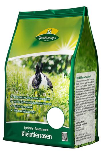 Rasensamen - Kleintierrasen 1 kg von Quedlinburger Saatgut