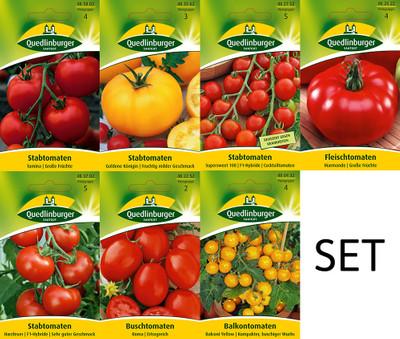 Premium Tomatensamen Sortiment - 7 Sorten | Tomatensamen von Quedlinburger