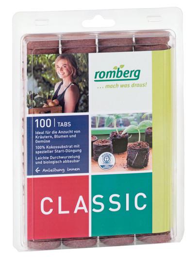 100 Kokos-Quelltabletten von Romberg