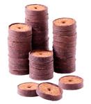 36 mm Kokos-Quelltabletten Coco Plugs (1.500 Stück) | Kokosquelltöpfe von Romberg