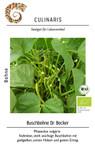 Buschbohne Dr. Becker | Bio-Buschbohnensamen von Culinaris