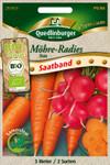 Bio-Möhre & Radies (Saatband) | Gemüsesamen von Quedlinburger