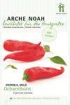 Gemüsepaprika Ochsenhorn | Bio-Paprikasamen von Arche Noah