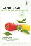 Gemüsepaprika Roter Augsburger | Bio-Paprikasamen von Arche Noah