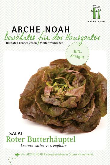 Kopfsalat Roter Butterhäuptl | Bio-Kopfsalatsamen von Arche Noah