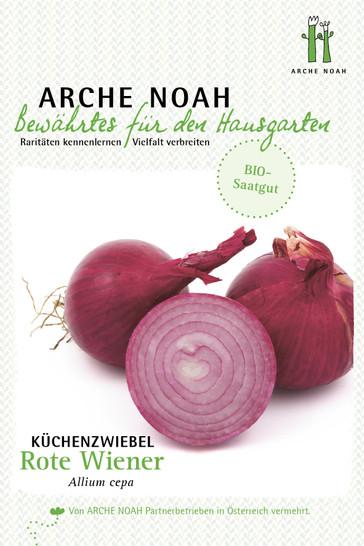 Küchenzwiebel Rote Wiener | Zwiebelsamen von Arche Noah