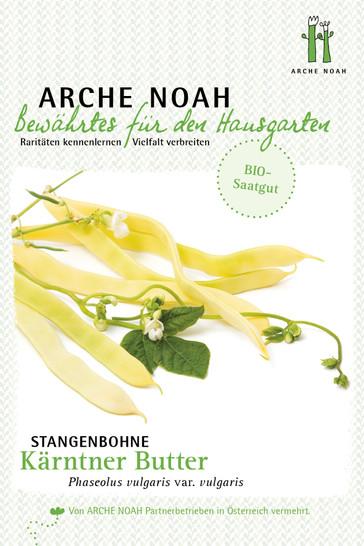 Stangenbohne Kärntner Butter | Bio-Stangenbohnensamen von Arche Noah