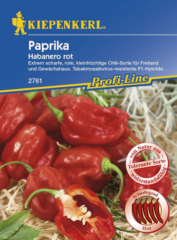 Paprika Habanero rot sehr scharf!! 10 Samen!!!,