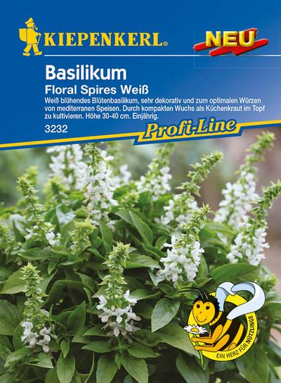 Basilikum Floral Spires Weiß | Basilikumsamen von Kiepenkerl