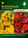 Beetschmuck gelb & rot Saatband | Beetschmucksamen von N.L. Chrestensen