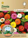 Zinnie Thumbelina Saatband | Zinniensamen von N.L. Chrestensen