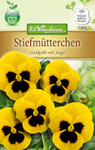 Stiefmütterchen Goldgelb mit Auge | Stiefmütterchensamen von N.L. Chrestensen