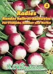 Radies Rundes halbrot & halbweiß | Radieschensamen von N.L. Chrestensen