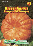 Riesenkürbis Rouge vif d' Etampes | Riesenkürbissamen von N.L. Chrestensen