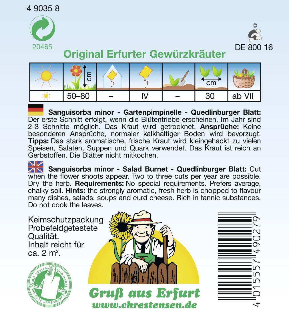 Quedlinburger-Pimpinelle