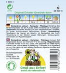 Koriander Thüringer | Koriandersamen von N.L. Chrestensen