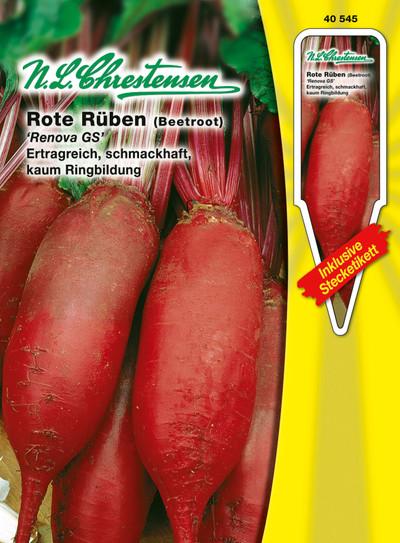 Rote Rübe Renova | Rote Rüben Samen von N.L. Chrestensen