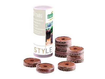 36 mm Kokos-Quelltabletten (10 Stück) | Kokosquelltöpfe von Romberg